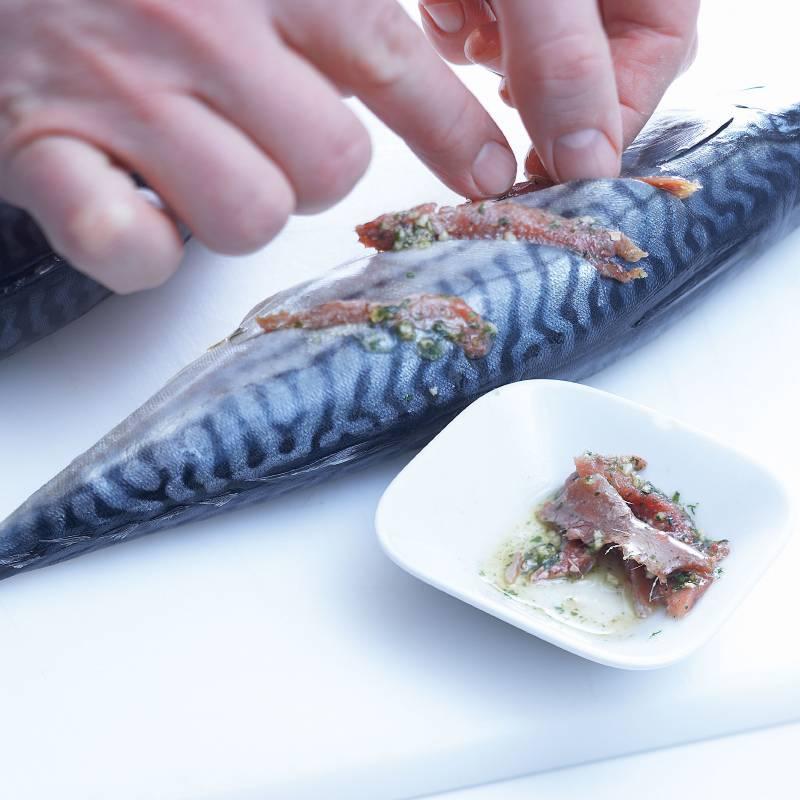 NORDSEE - Fisch erleben wie frisch am Meer. | Gespickte Makrele ...